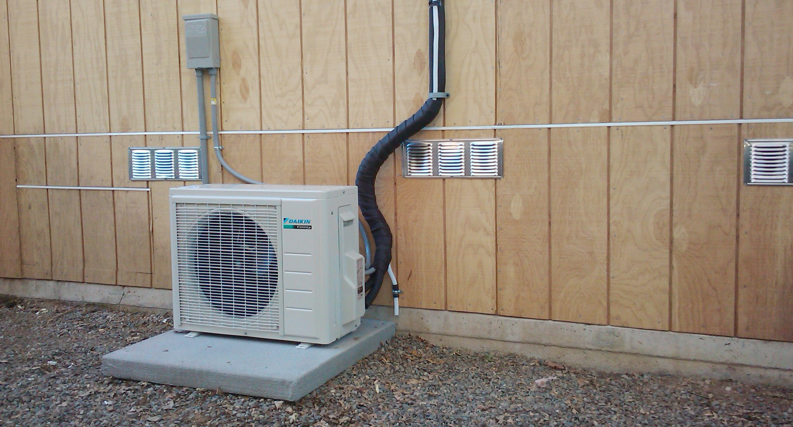 The Juneau Carbon Offset Fund Installs Two More Heat Pumps!